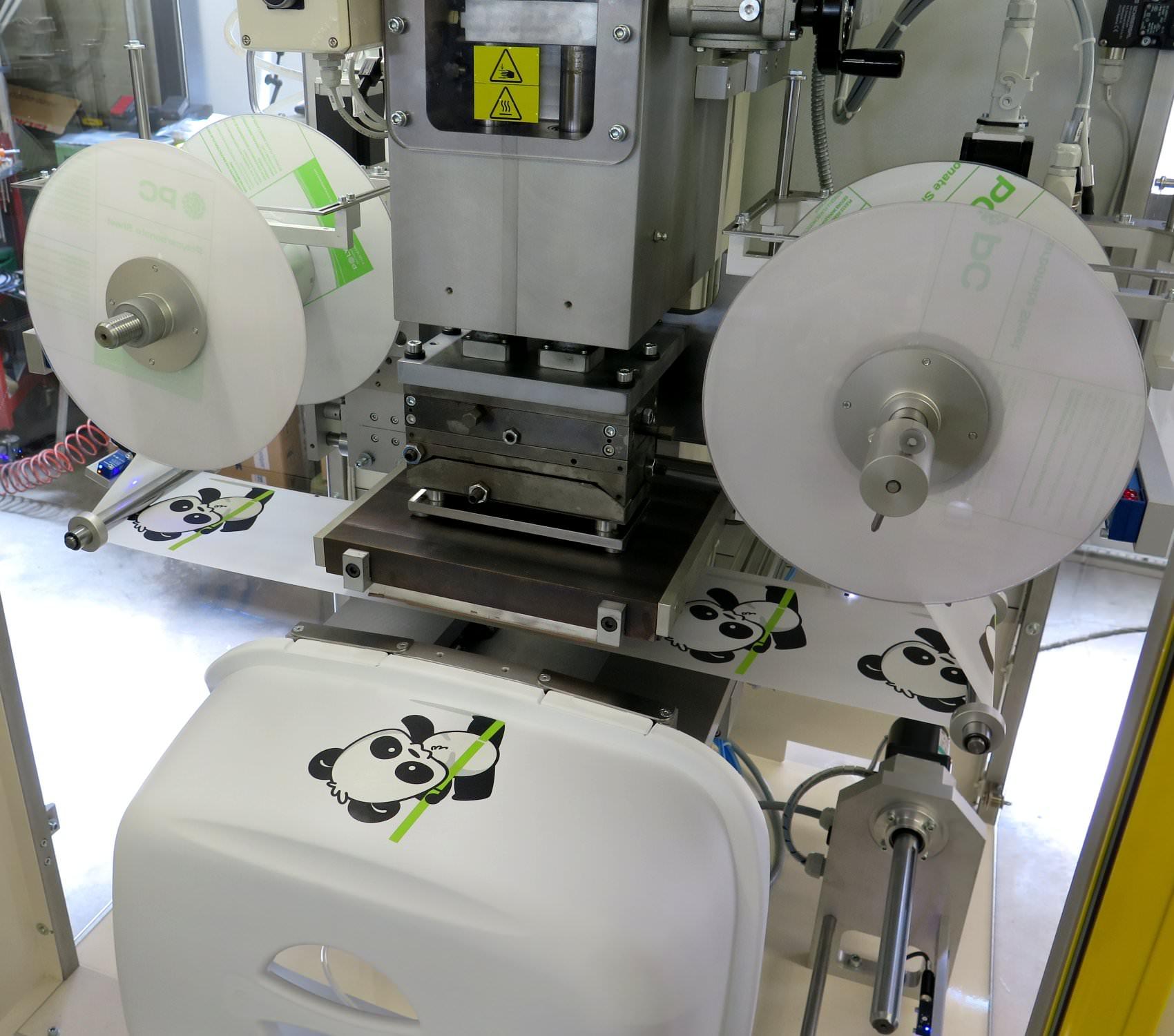 Macchina di stampa a caldo con caricatore automatico Delsa HS3/E+C V